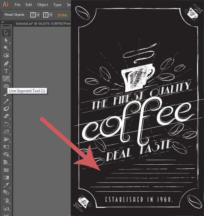 Chalk Pro Illustrator Brush Tutorial 14