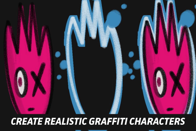 FREE The Graffiti Box: Procreate Brushes